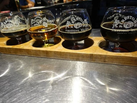 Firestone Walker Brewing Company: Flight of Yumminess