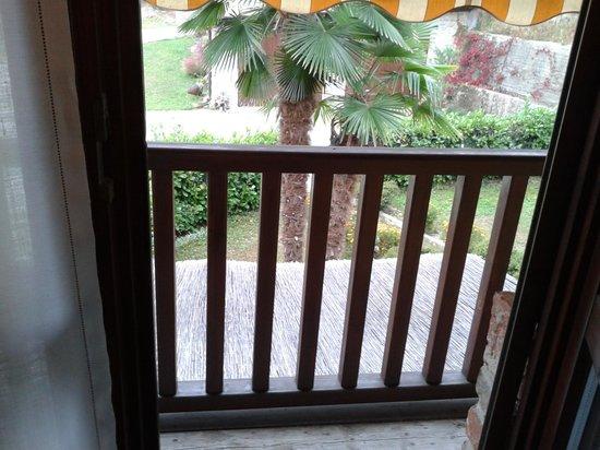 Agriturismo Piccolo Rustico: balconcino