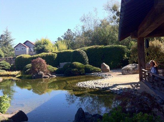 Osmosis Day Spa Sanctuary: Zen garden