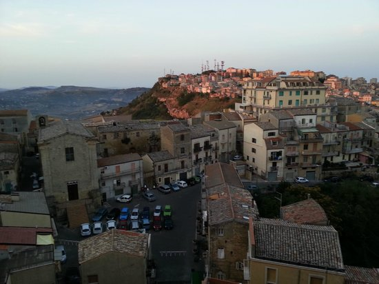 Hotel Sicilia: Blick aus dem Zimmerfenster frühmorgens