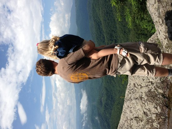 The Blowing Rock: Top of the Rock