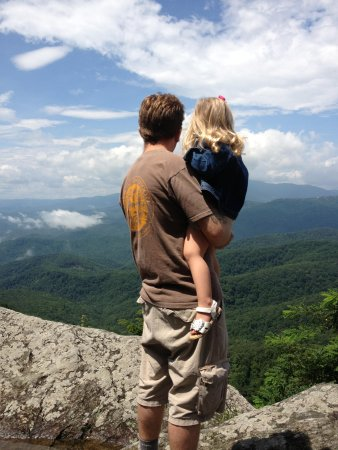 The Blowing Rock : Top of the Rock
