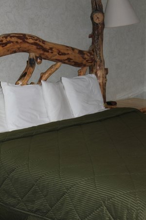 Georgetown Mountain Inn: log bed
