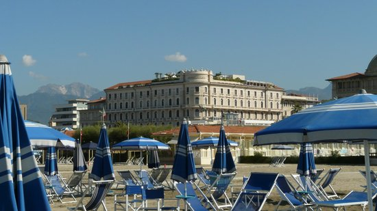 Grand Hotel Principe di Piemonte: Från stranden