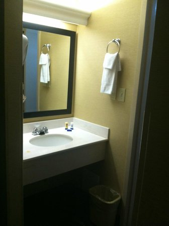 Best Western Summit Inn: Sink Area