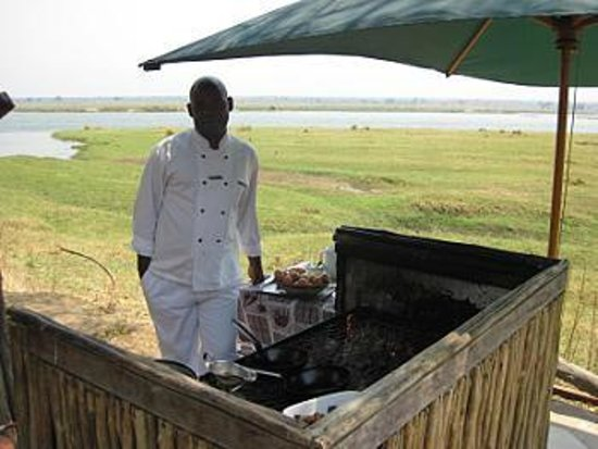 Wilderness Safaris Ruckomechi Camp: Brunch