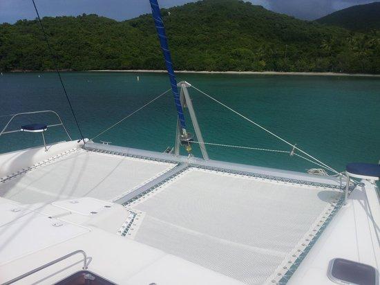 """Singing Dog Sailing: """"Off Cay"""" in Maho"""