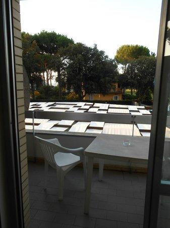 Hotel Club River Palace di Terracina: Vue depuis le balcon