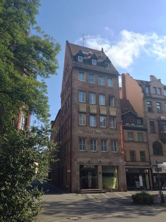 Hotel Drei Raben : Hotelansicht von aussen