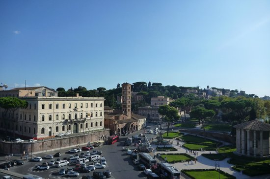 Fortyseven Hotel Rome : View from Rooftop Bar