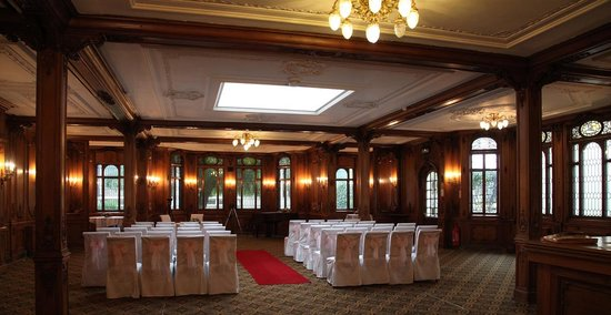 The White Swan Hotel : Olympic Suite set for Wedding