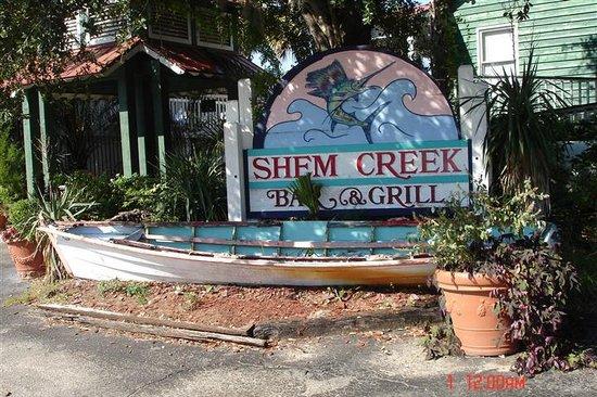 Shem Creek Bar & Grill Entrance