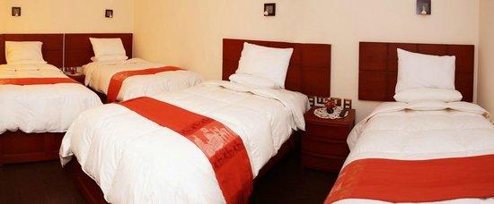 Hotel Golden Inca: habitacion cuadruple