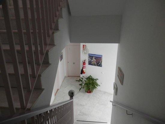 Hotel Un Patio al Sur : scale verso la terrazza