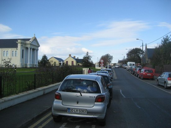 St Mary's Church, Buncrana: View from driving by