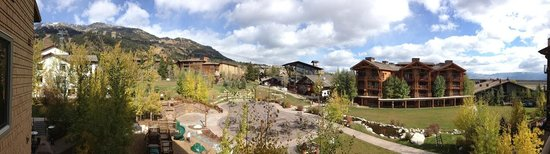 Hotel Terra Jackson Hole, A Noble House Resort: Panoramic View from our balcony