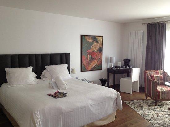 La Mare aux Oiseaux : Vue de la chambre avec king size bed