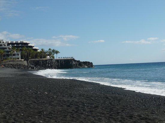 Sol La Palma Hotel: Sol La Palma vue de la plage