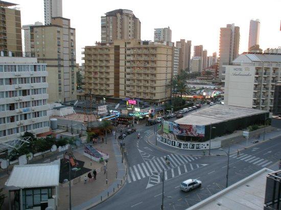 Flash Hotel Benidorm: Vista desde la habitación del hotel