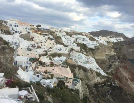 Art Maisons Luxury Santorini Hotels Aspaki & Oia Castle: Eastern View