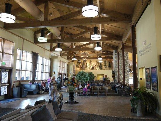 Denali Princess Wilderness Lodge: エントランス