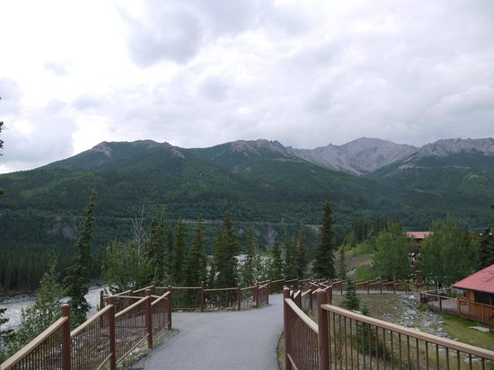 Denali Princess Wilderness Lodge: ホテル内散歩道