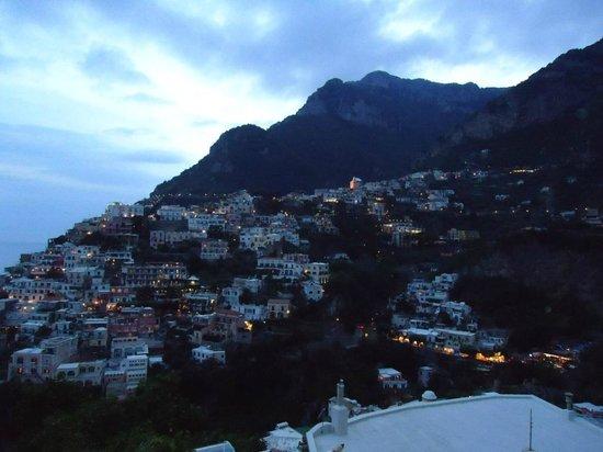 Villa Fiorentino: Evening view from balcony