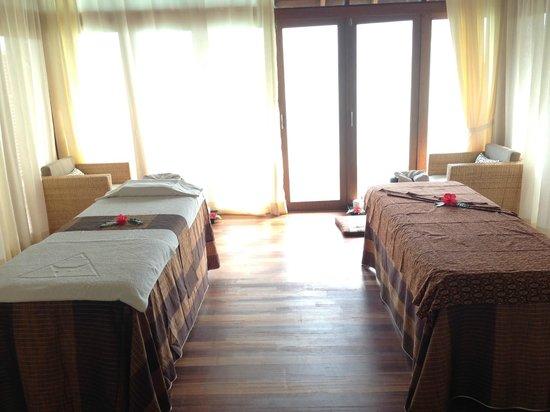 Anantara Dhigu Maldives Resort: the spa