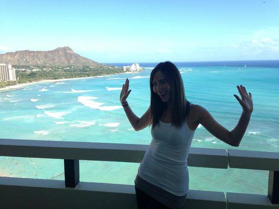 Sheraton Waikiki: The view from room #2704
