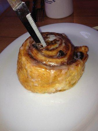 The Bunnery Bakery & Restaurant: Yummy bun from The Bunnery