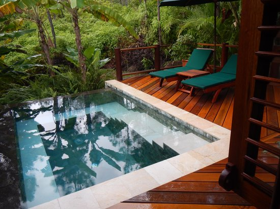 Blancaneaux Lodge : Casita 11 plunge pool - cold