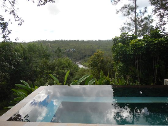 Blancaneaux Lodge: Enchanted Cottage - plunge pool - Cold