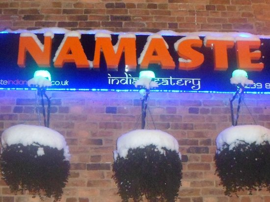 Namaste Indian Eatery: A warm welcome awaits you.....01299 877 448