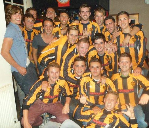 Namaste Indian Eatery: Proud sponsors of Namaste Tigers FC.