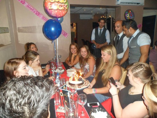 Namaste Indian Eatery: The perfect venue for a great party!!!....01299 877 448.