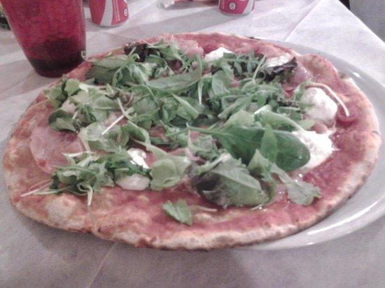 PizzOsteria El Magher : pizza primavera