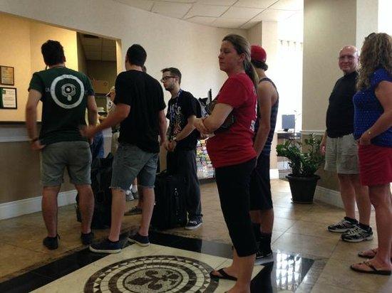 Knights Inn Gretna New Orleans West Bank: FRONT DESK