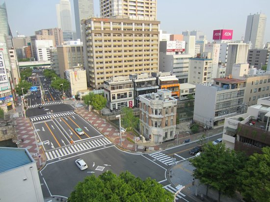 Richmond Hotel Nagoya Nayabashi : View from our room looking at Nagoya
