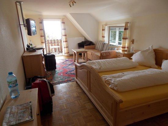 Berggasthof & Hotel Brend: Super nice room!