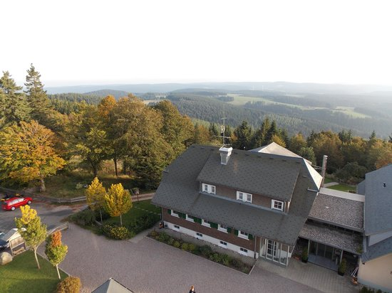 """Berggasthof & Hotel Brend: View of the Brend from """"Rapunzel's"""" tower!"""