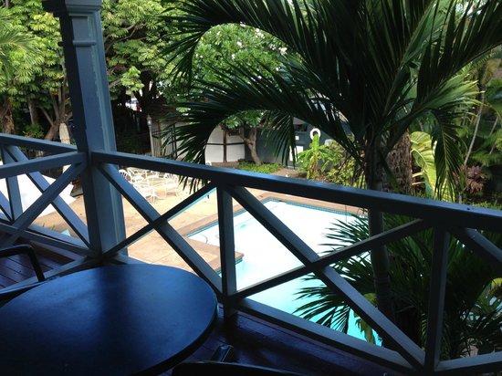 BEST WESTERN Pioneer Inn : View of Pool from room