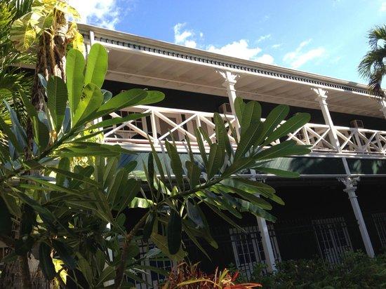 BEST WESTERN Pioneer Inn : View iof Balcony from Pool deck