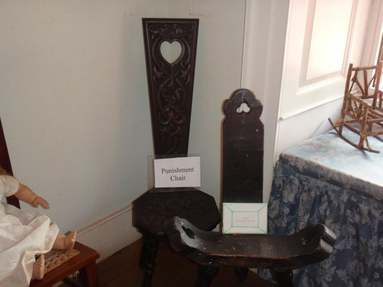 Sunbury Plantation House: Sunbury House Antique Punishment Chair