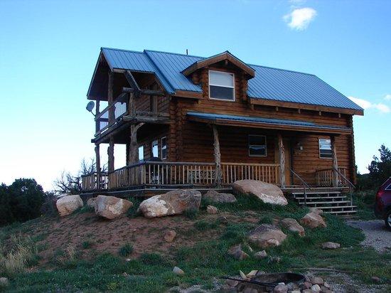 Morris' Last Resort: Our cabin pioneer 2