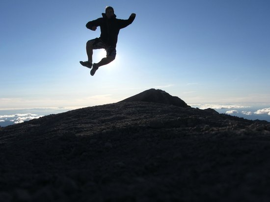Mount St. Helens : A little fun near the summit