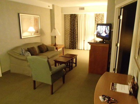 Staybridge Suites San Antonio - Airport: comfortable living room