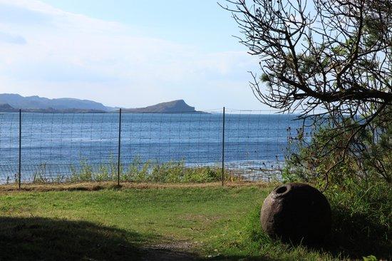 Arduaine Garden: View to sea