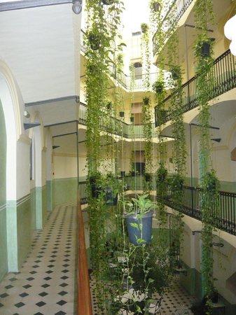 Hotel Peninsular : Patio