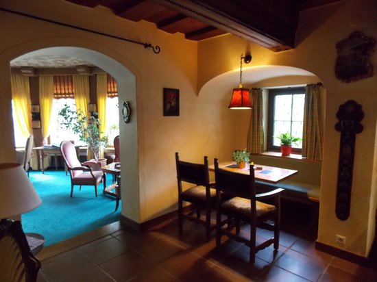 Hotel St. Georg: One of the common rooms