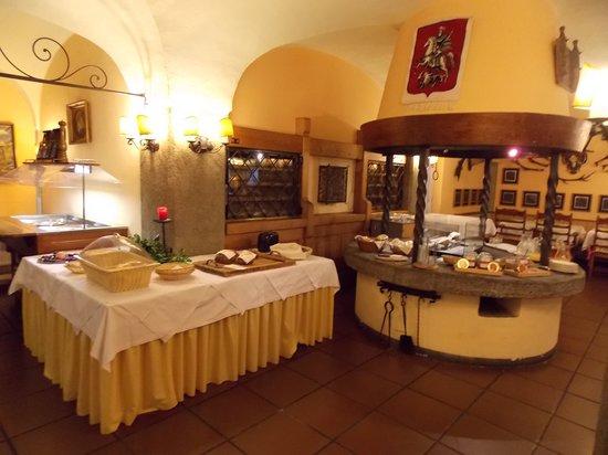 Hotel St. Georg: Breakfast buffet (part of it)